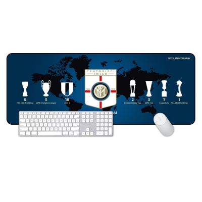 Inter Milan legendary super large mouse pad office keyboard pad table mat