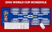 2018 World Cup Race Oversized Mouse Pad Office Keyboard Pad Table Mat