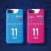 2019 Japan Yokohama FC jersey mobile phone case Miura Zhiliang