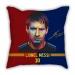 Ball King Messi career cartoon sofa cotton and linen texture pillow car pillow