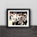 Golden State Warrior Champion Night Solid Wood Decorative Photo Frame Photo Wall Table Pendulum Frame Decoration Curry Durant