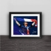 French team Gritzman champion celebrates illustration wood decorative photo frame photo wall
