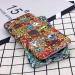 Cute cartoon funny personality graffiti protective cases scrub phone case