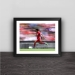 Liverpool Salah sprint instant solid wood decorative photo frame photo wall table hanging frame
