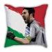 Italy Buffon Illustrator pillow sofa cotton and linen texture car pillow cushion gift