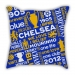 Map section London city pillow sofa cotton and linen texture car pillow cushion gift