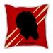 James Harden silhouette head portrait pillow sofa cotton and linen texture car pillow cushion gift