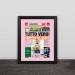 Italian world champion Milan sports newspaper headline solid wood decorative photo frame photo wall