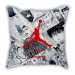Slam Dunk Sakuragi Flower Road White Sketch Sofa Cotton Hemp Texture Pillow Car Pillow