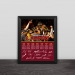 2016 Cleveland Cavaliers Champion Family Portrait Wood Photo Frame Photo Wall