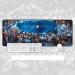 Inter Milan fans starry sky large mouse pad Office keyboard pad bar gift