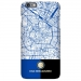 Milan City Map Inter Milan Scrub Phone Case