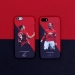 Red Devil Player Illustration Frosted Phone Case