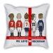 Beckham career cartoon sofa cotton and linen texture pillow car pillow
