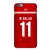 Liverpool Salah jerseys for the 18/19 season iphone7 8 XS 6s plus matte phone case