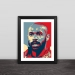 Arsenal Henry head art illustration solid wood decorative photo frame photo wall table hanging frame