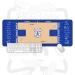 Philadelphia 76ers Arena Floor Signature Oversized Mouse Pad Learning Office Keyboard Desk Mat Simons Embed