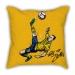 Ibrahimovic classic inverted hook cartoon pillow sofa cotton and linen texture car pillow
