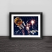 Golden State Warrior Kevin Duran close-up real wood decorative photo frame bar photo wall