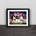 Arsenal double gun wood decorative photo frame photo wall table hanging frame decoration mural