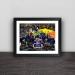 2019 Chelsea Europa League Champion Family Portrait Signature Wood Decorative Frame