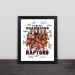 2019 Raptors championship team cartoon solid wood decorative photo frame photo wall