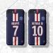 1920 Paris Saint-Germain Neymar Mbabe Mobile phone case