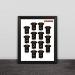 2016 Cavalier Champion jersey illustration solid wood decorative photo frame