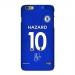 17-18 season Chelsea home jersey Apple mobile phone shell Azarcante