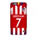 18-19 Atletico Madrid home jersey mobile phone shell X Griezman Atletico