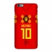 2018 World Cup Belgium home jersey mobile phone cases Azar