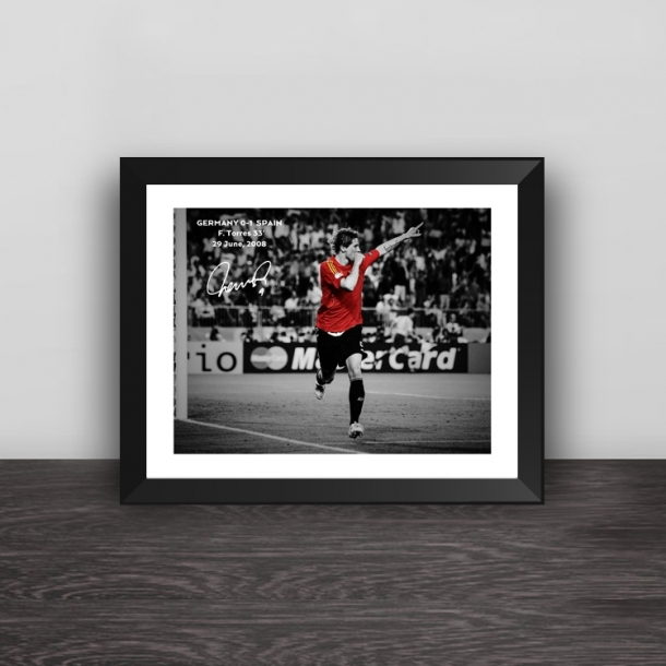 European Cup Torres classic moment photo frame