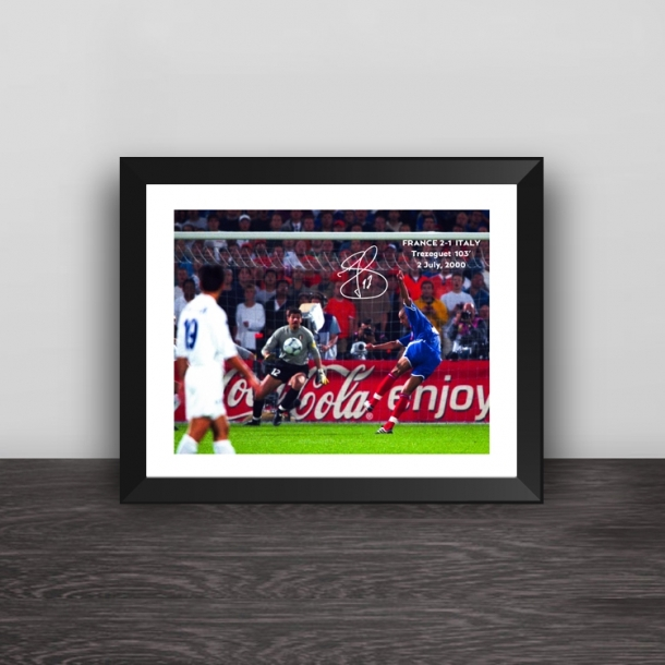 European Cup Trezeguet classic moment photo frame
