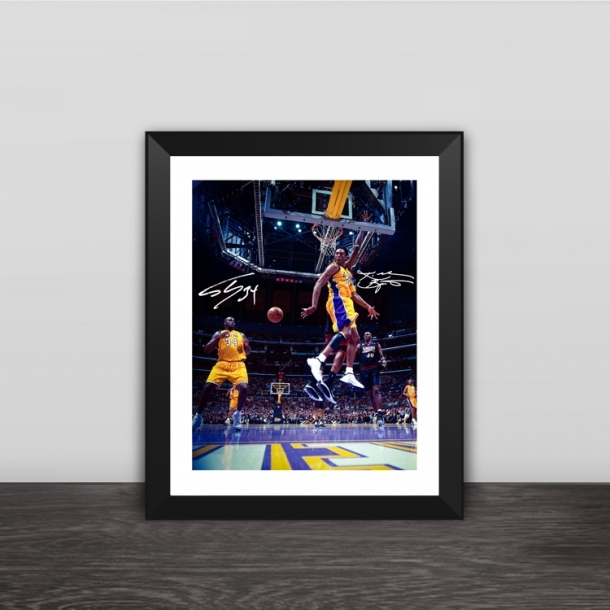 Kobe classsic moment photo frame