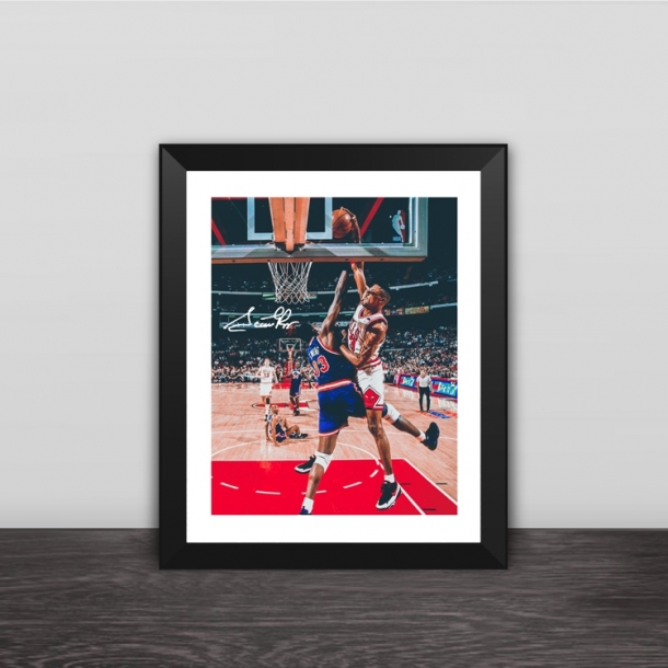 Bulls Pippen classic moment photo frame