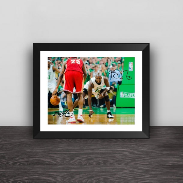 Garnett vs James photo frame