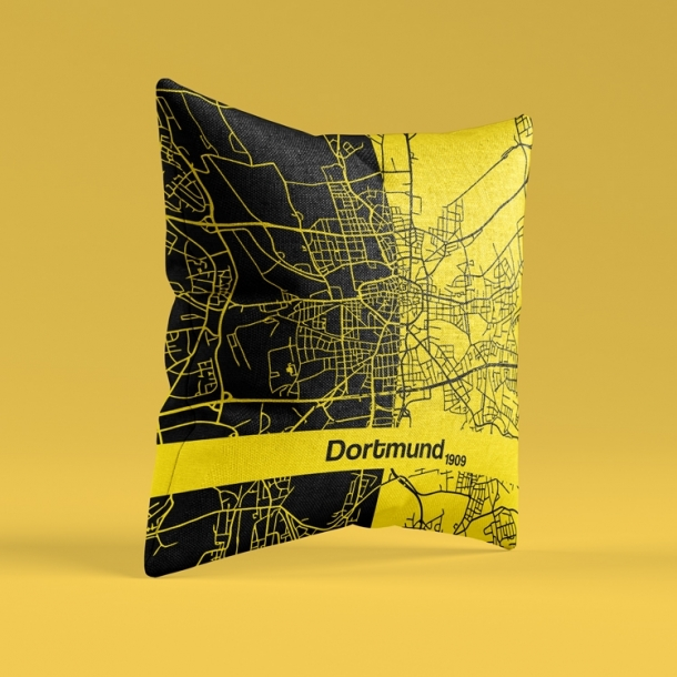 Germany Dortmund artistic pillow