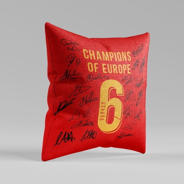 Liverpool champions league mouse pad