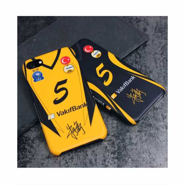 Wakif Bank VakifBank Zhu Ting signature jerseys 3D matte phone case
