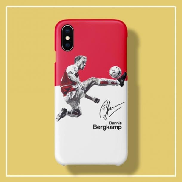 Arsenal Bergkamp classic moment phone case