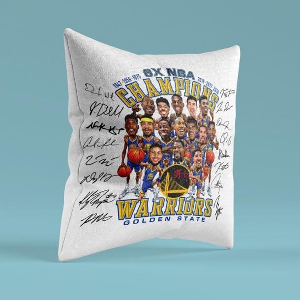 Jinzhou warriors cartoon champion souvenir pillow