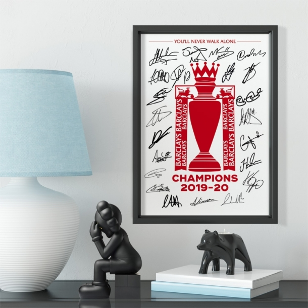 Liverpool champions league photo frame