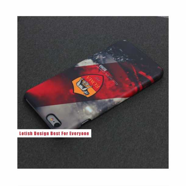 Rome team logo frosted 3D fuel injection phone case Totti mobile phone cases