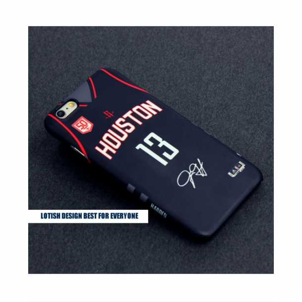Houston Rockets jersey home and away 3D matte phone case Harden