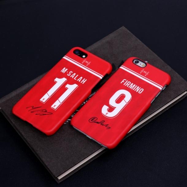 Liverpool home jerseys in the 18-19 season, matte phone cases Salah