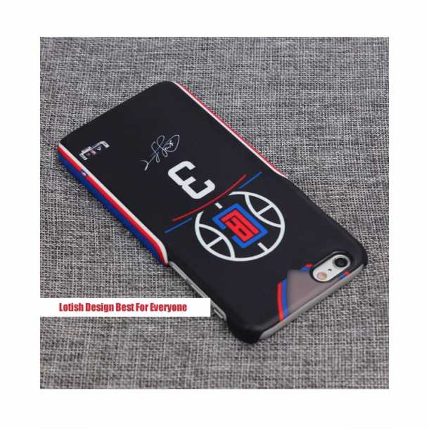Los Angeles Clippers Black Jersey Mobile Cases Paul Griffin Pierce