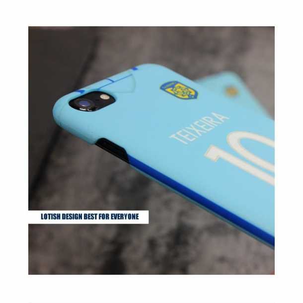 2017 season Jiangsu Suning shirt iPhone8X 7-plus cases