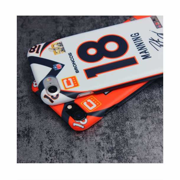 Denver Broncos Peyton Manning jerseys 3D phone case
