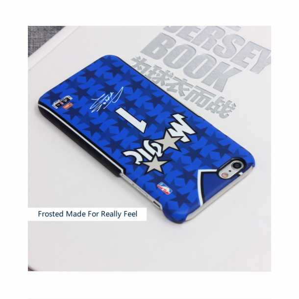 McGrady career retro jersey models frosted apple  phone case