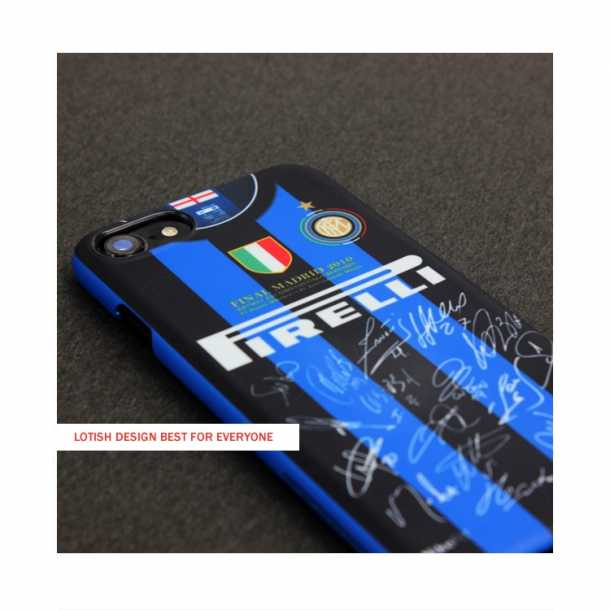 2010 Inter Milan retro section team signature mobile phone cases
